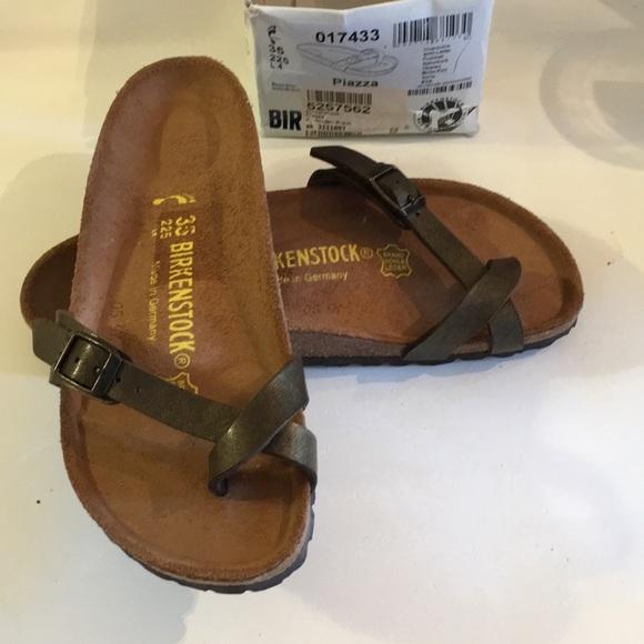 7c9d02ca5106 Birkenstock Shoes - Birkenstock piazza sandals size 35   4